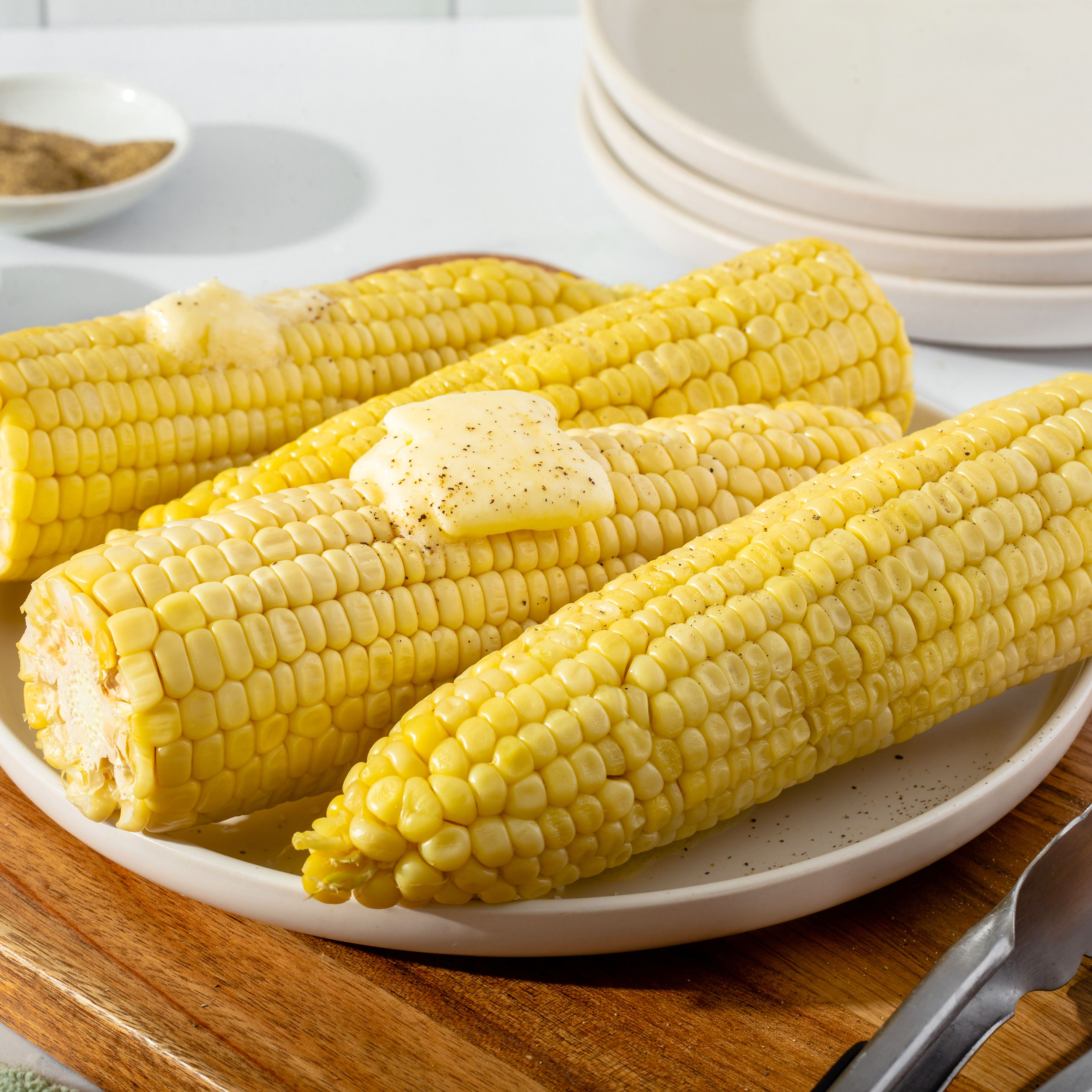 The Easiest Way to Microwave Corn on the Cob