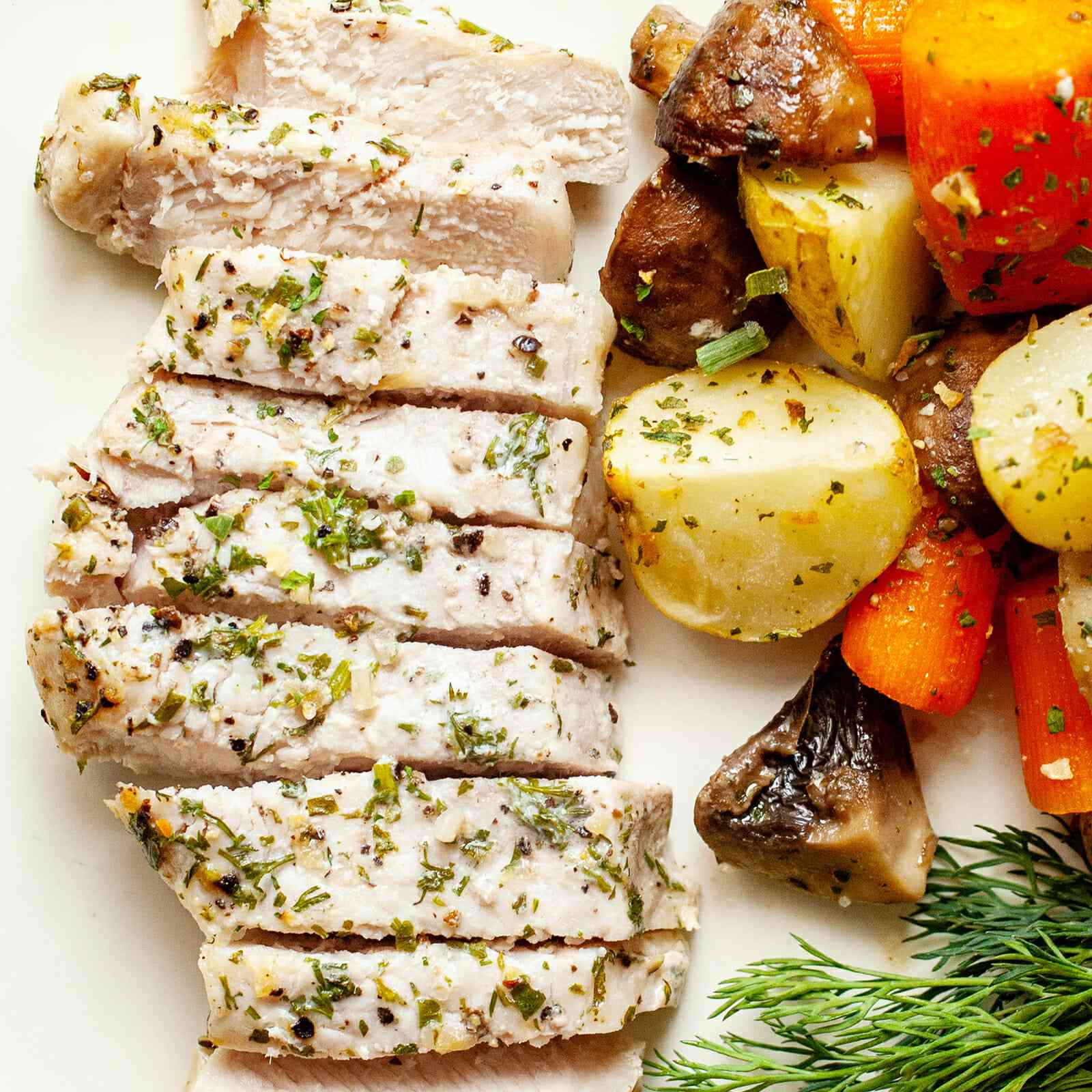 Sheet Pan Pork Chops Recipe