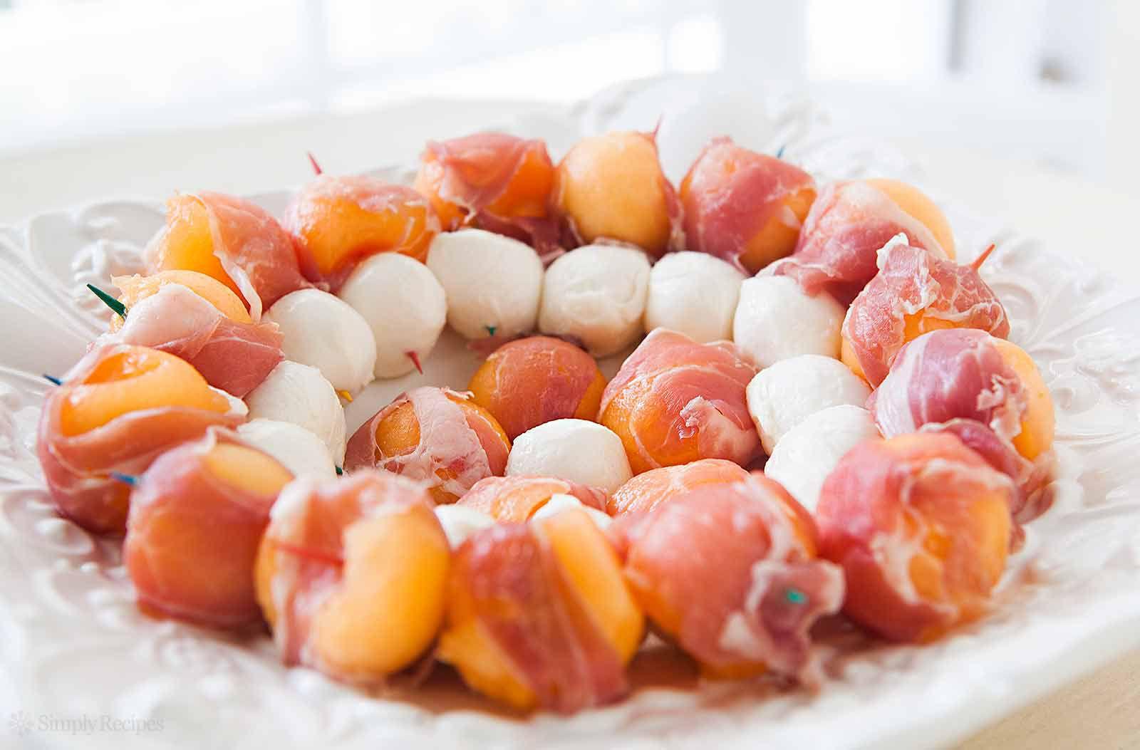 Prosciutto Melon Mozzarella