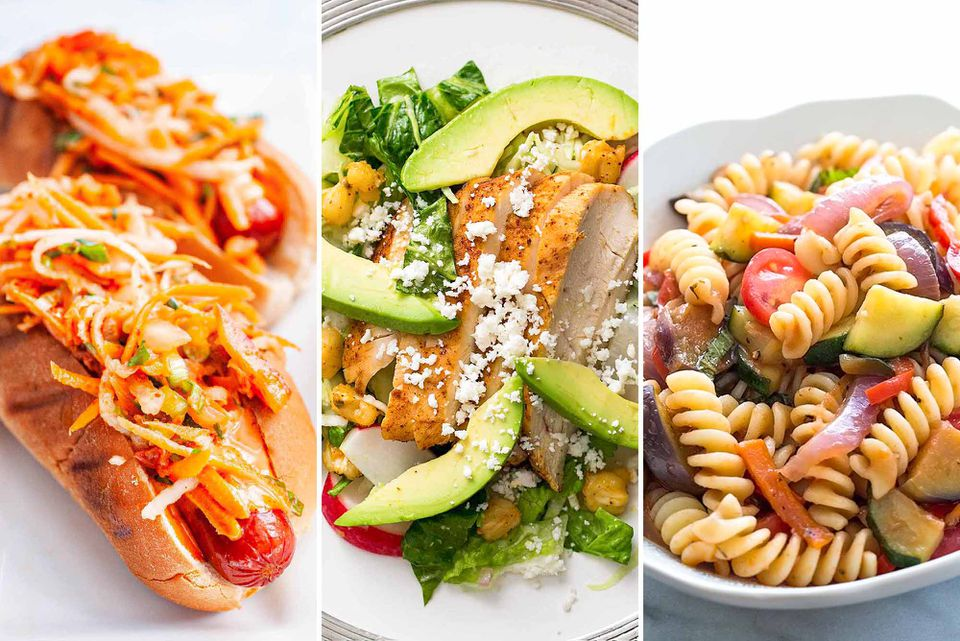 Meal plan for August Week 1
