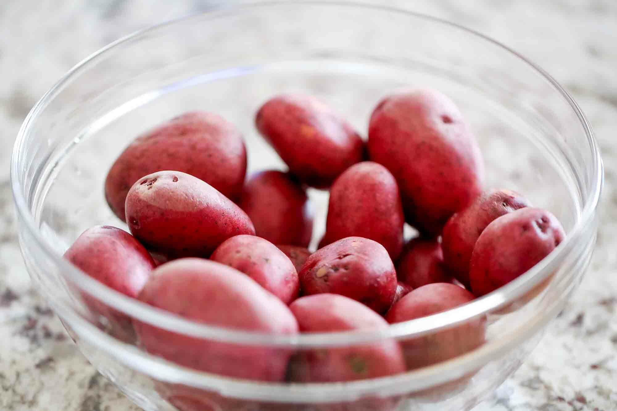 Sous Vide Potatoes red potatoes