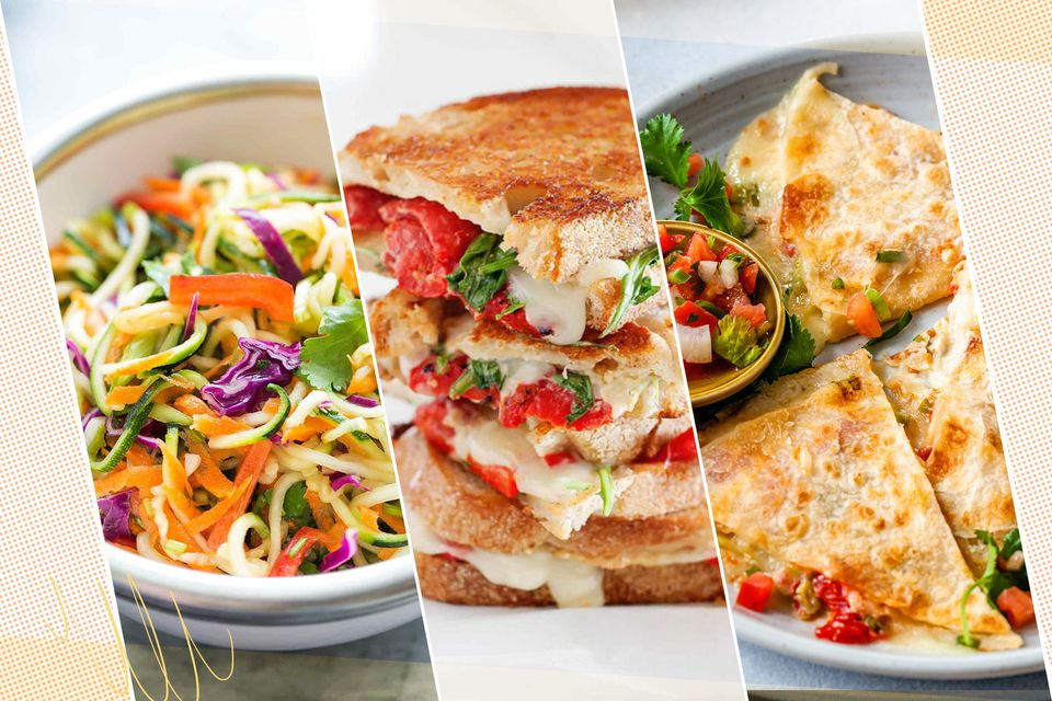 Easy Lunch Recipes Ready In 20 Minutes or Less