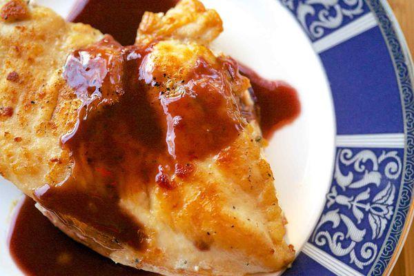 Chicken Cassis