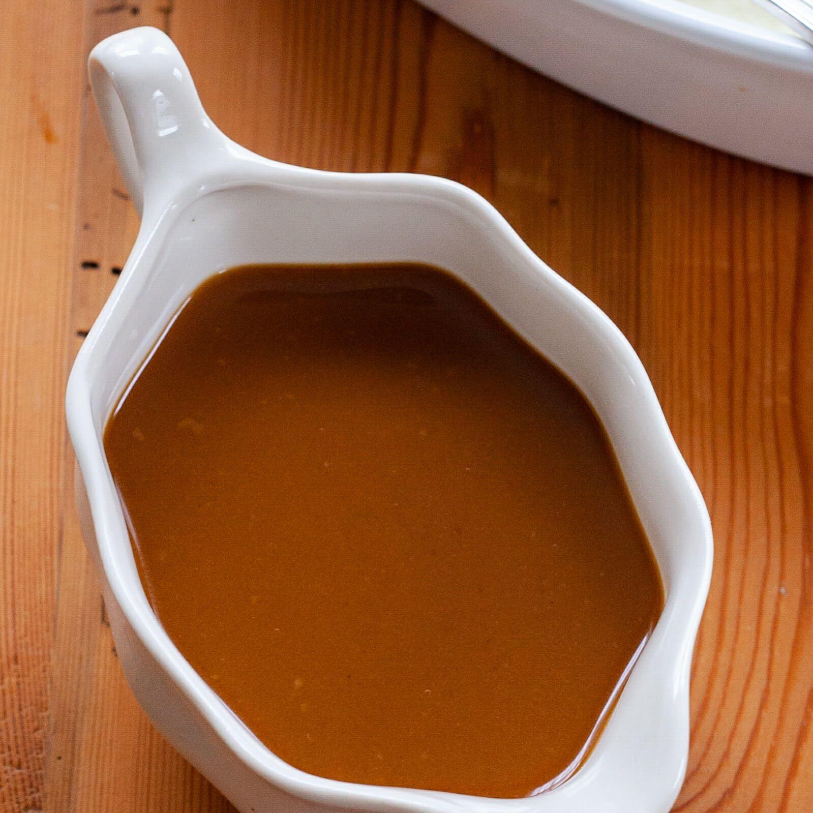 Make Ahead Turkey Gravy Recipe