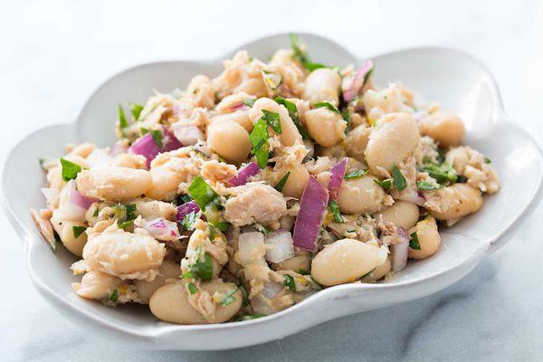 White Bean Tuna Salad