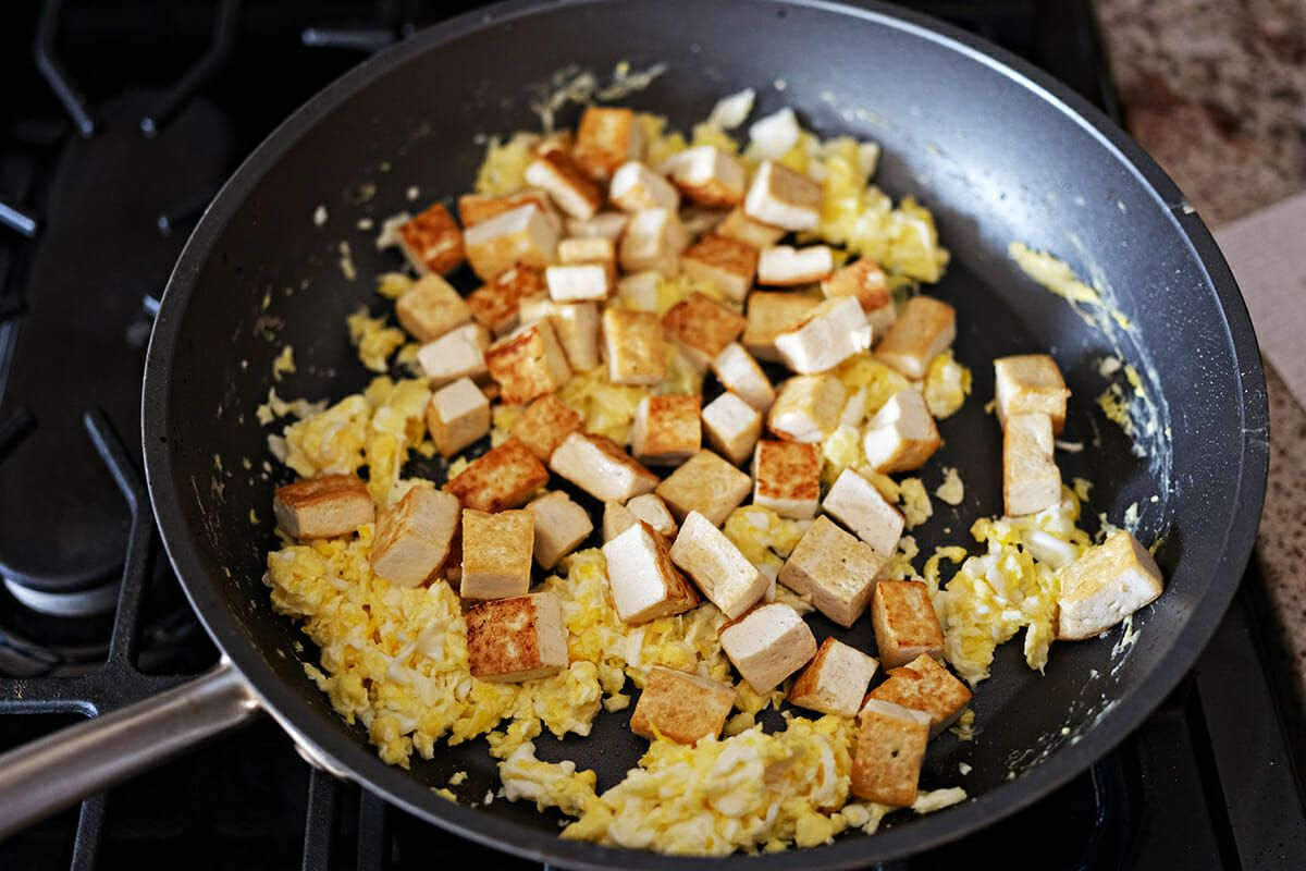 Vegetarian Pad Thai recipe