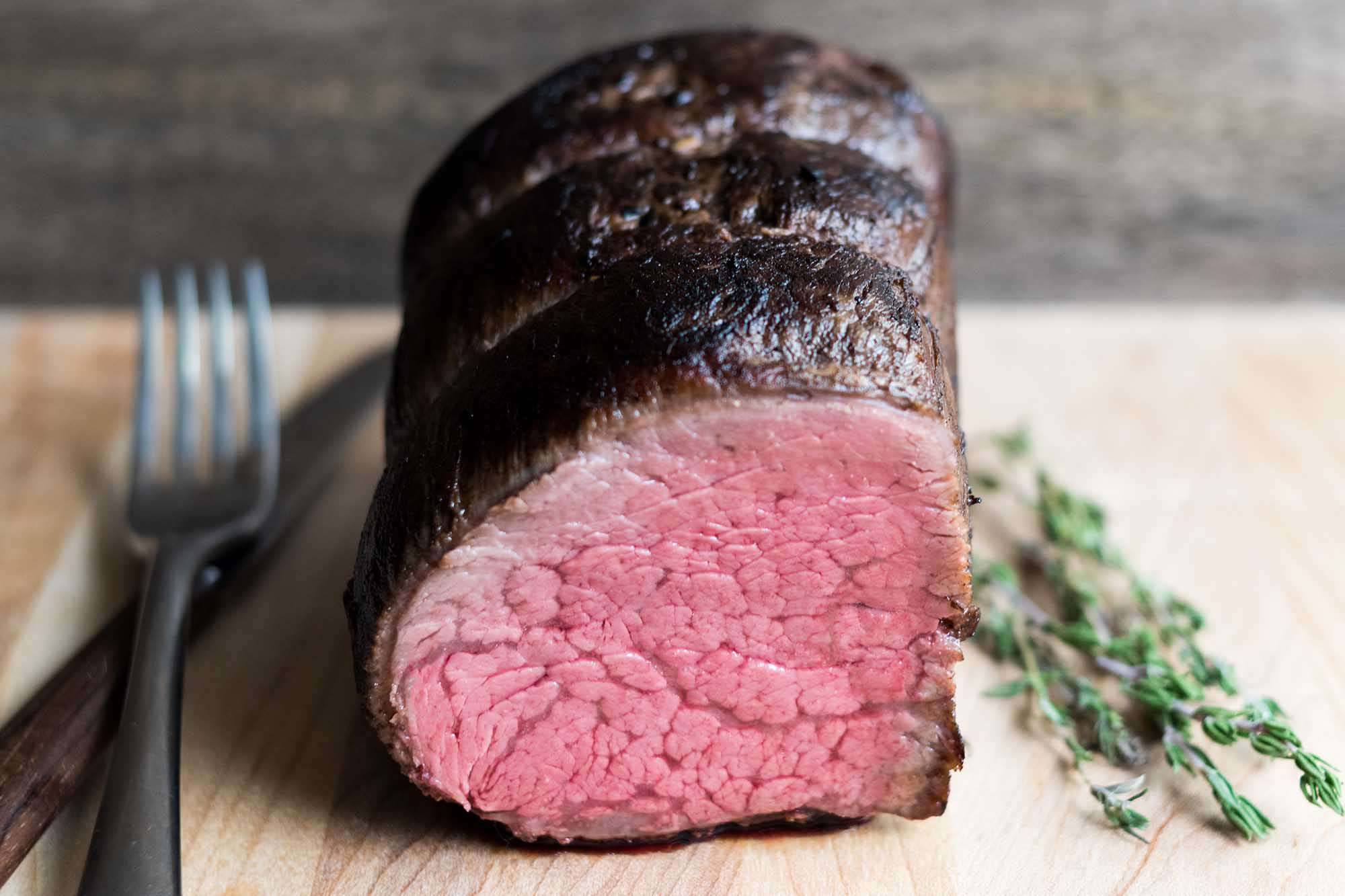 Sous Vide Beef Tenderloin With Port Wine And Garlic Recipe