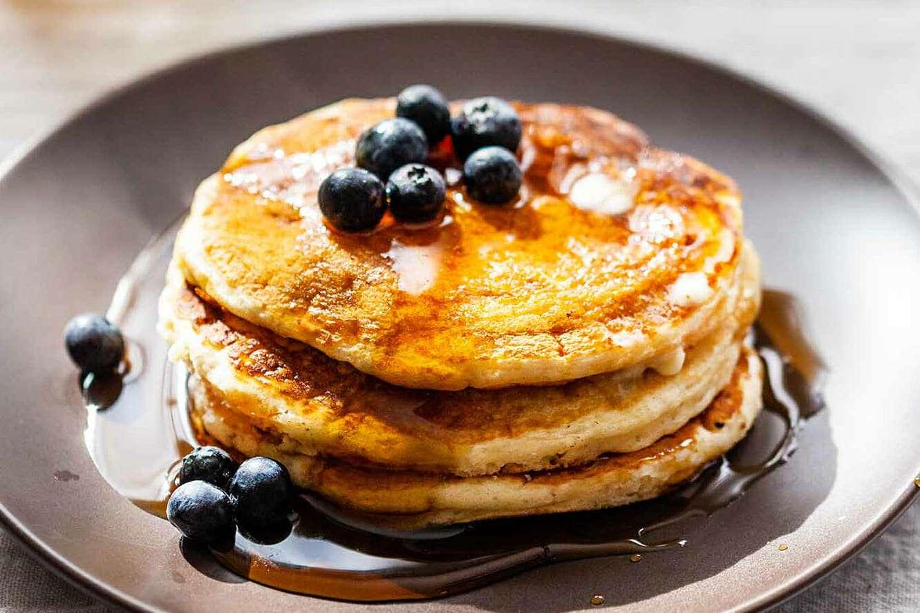 Fluffy Buttermilk Pancakes from Scratch