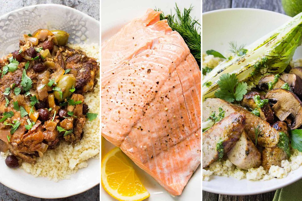 Meal Plan for March Week 1