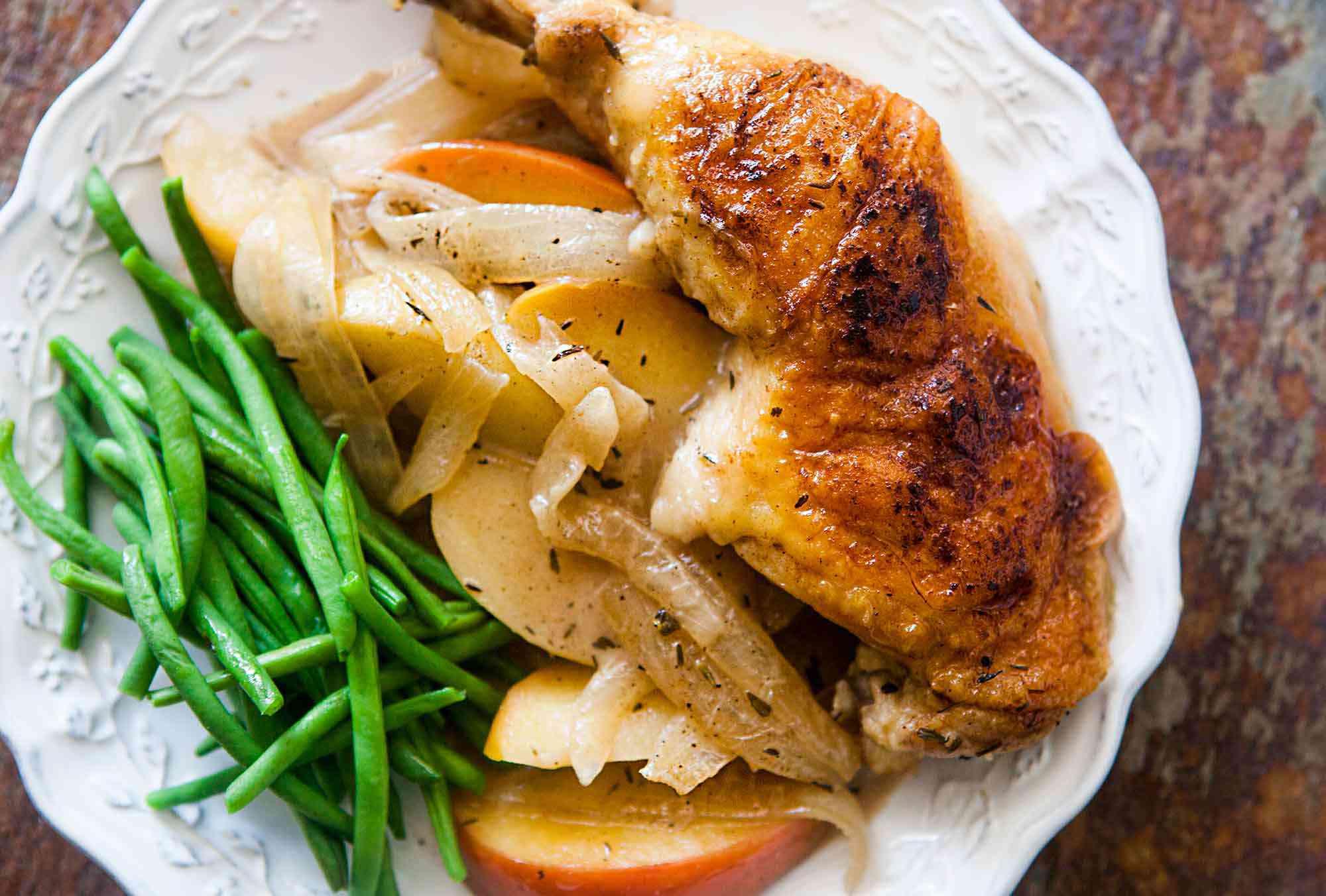 Chicken Normandy