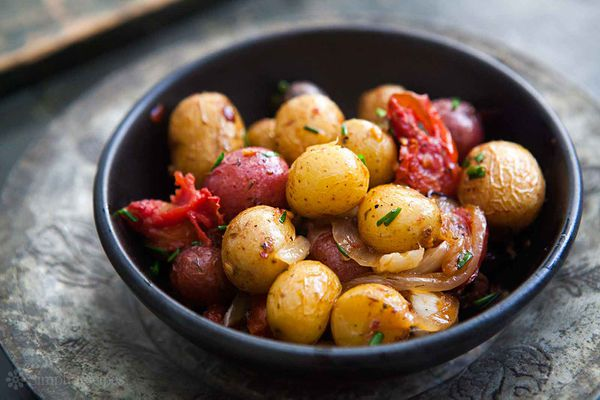 Provencal New Potatoes