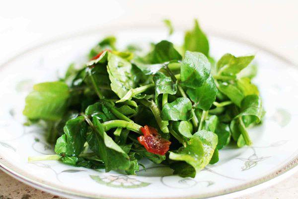 Watercress Bacon Salad