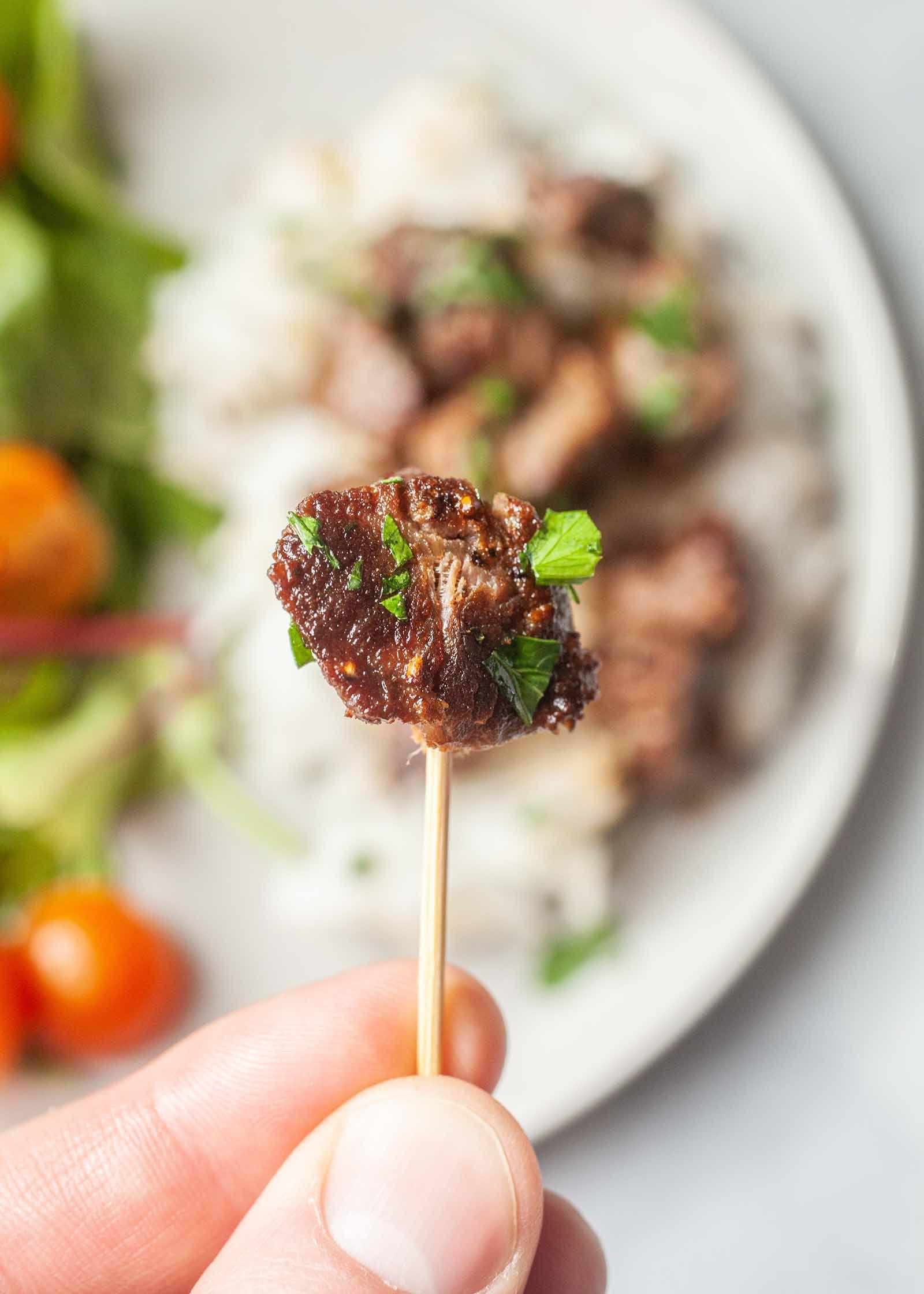 Best Steak Bites Recipe