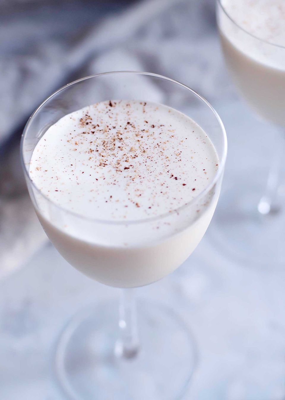 Brandy and cream cocktail