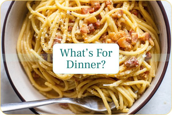 September Meal Plan Week 1