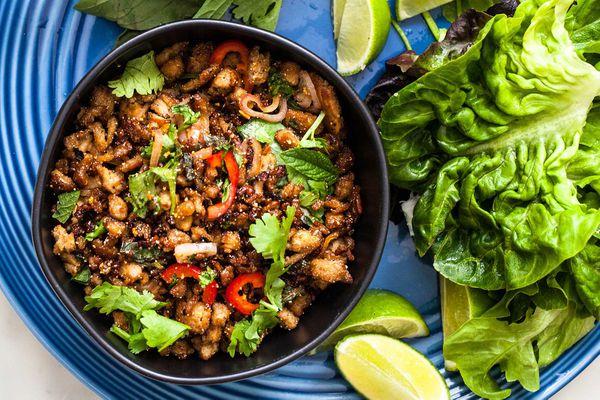 Turkey Larb Recipe