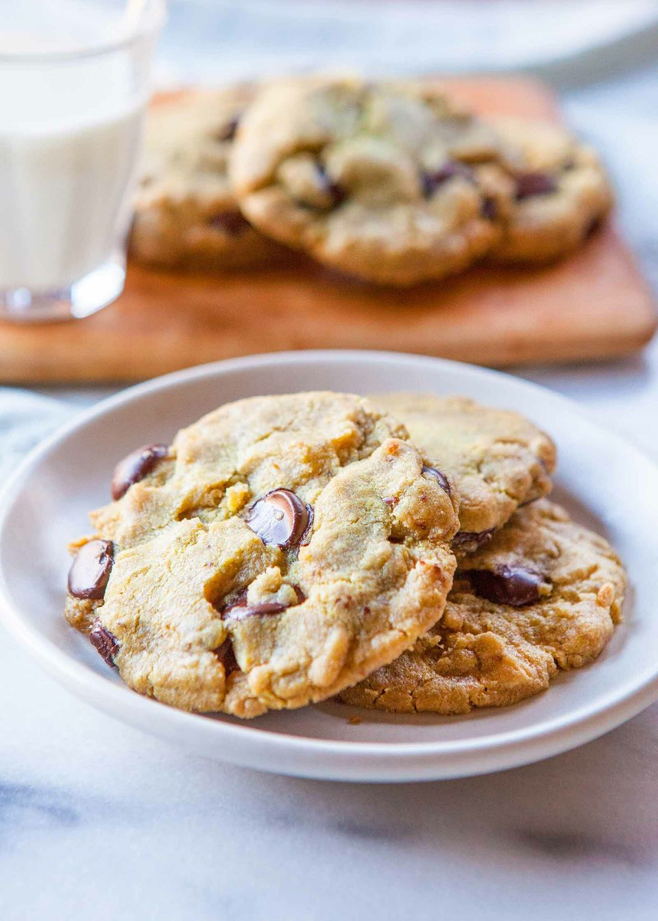 Allergy-Friendly Peanut Butter Chocolate Chip Cookies