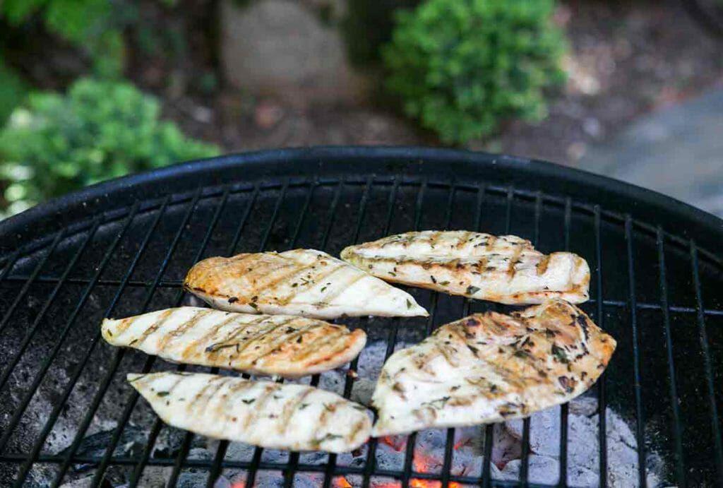 grill chicken cutlets