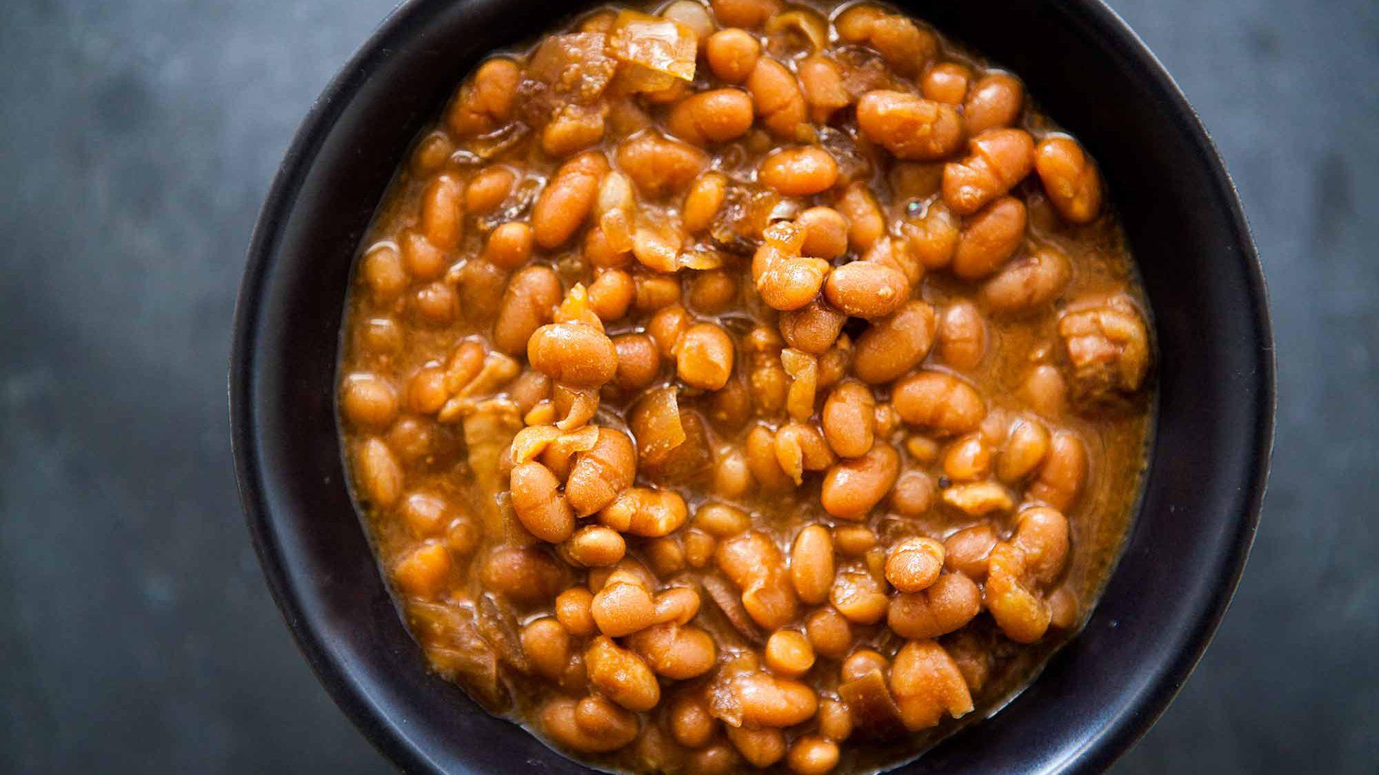 Boston Baked Beans Slow Cooker Recipe