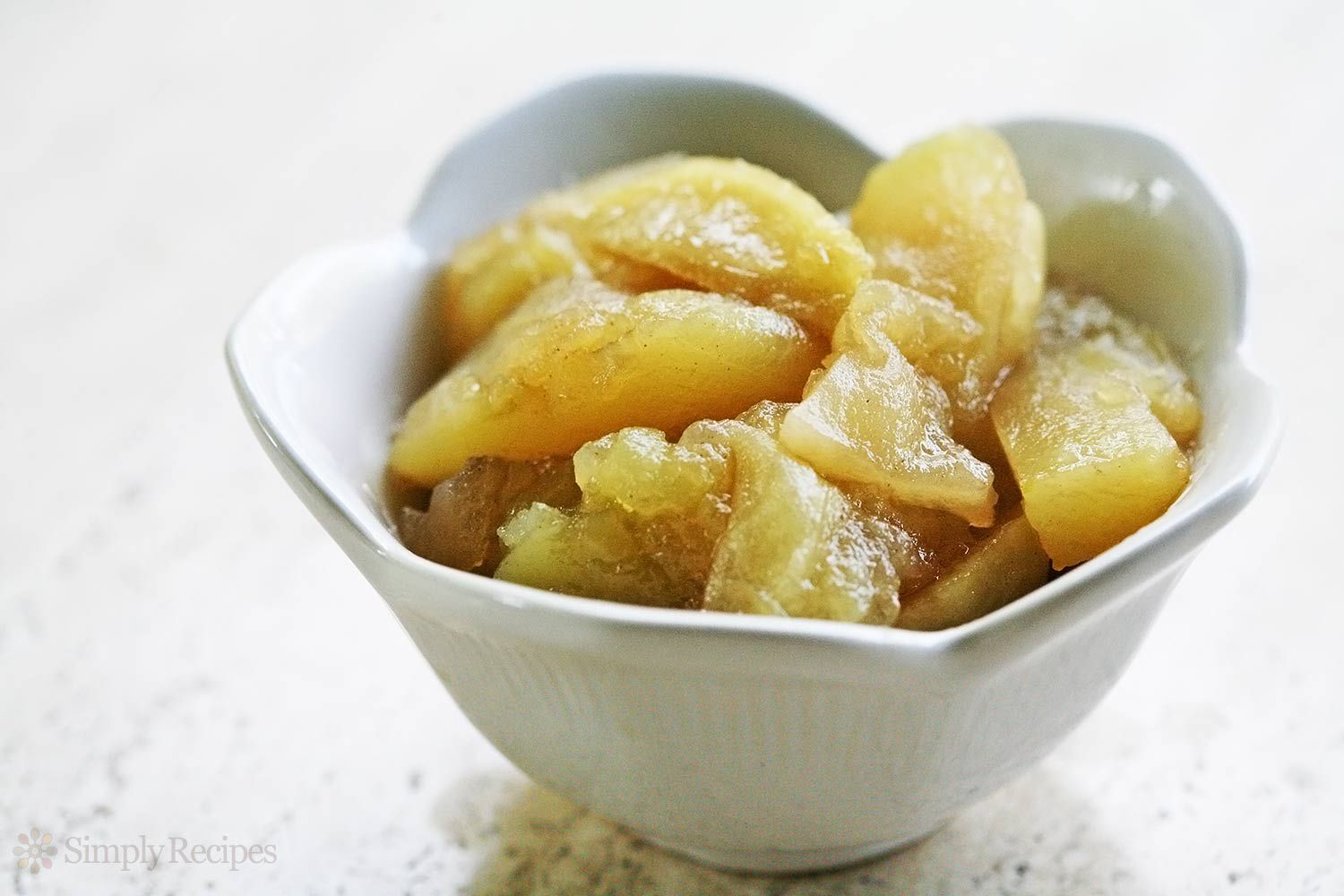 Easy Baked Apple Slices Recipe
