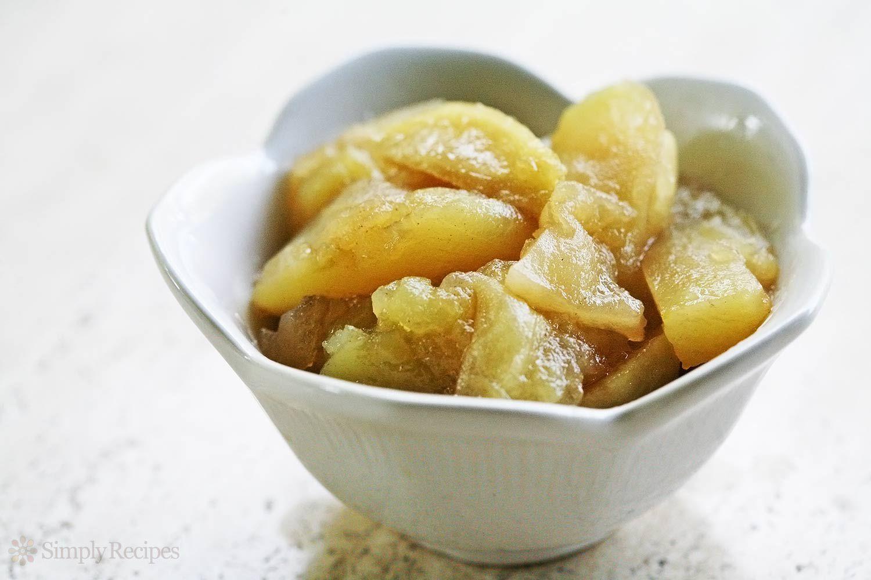 Easy Baked Apple Slices Recipe