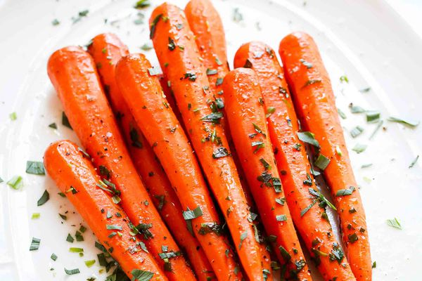 Carrots Cooked Sous Vide
