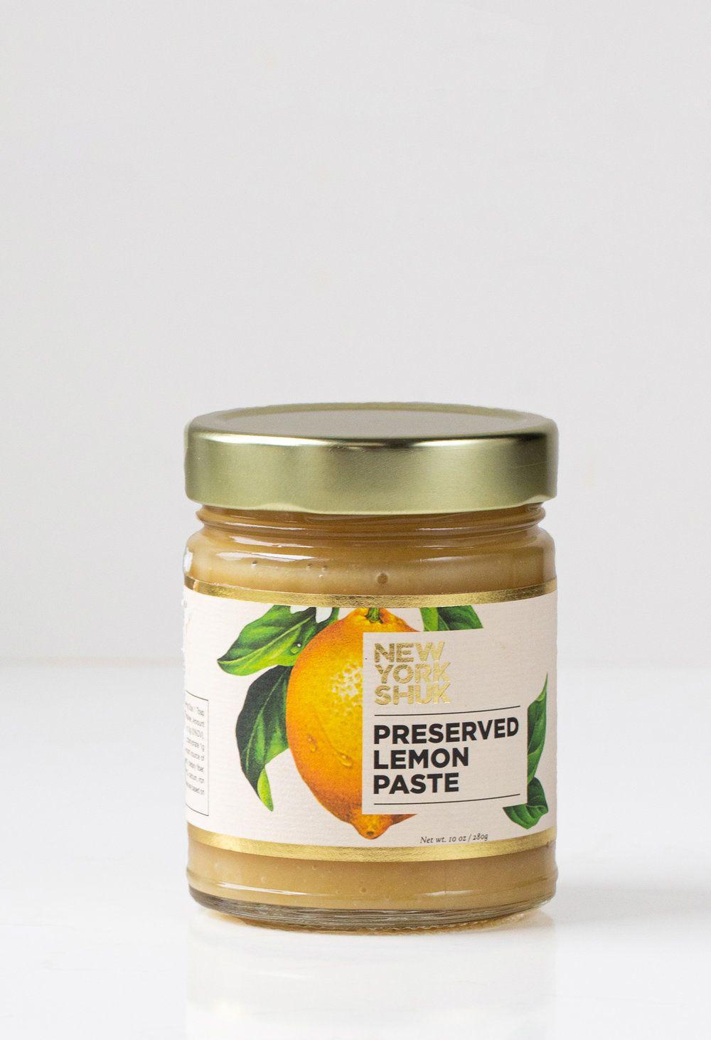 New York Shuk Preserved Lemon Paste