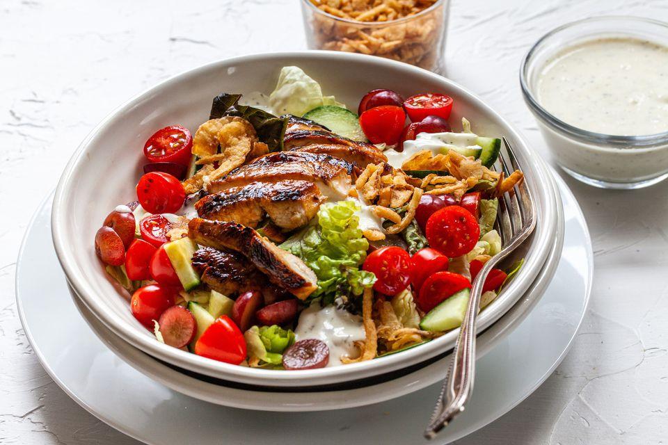 naturesweet grilled chicken salad