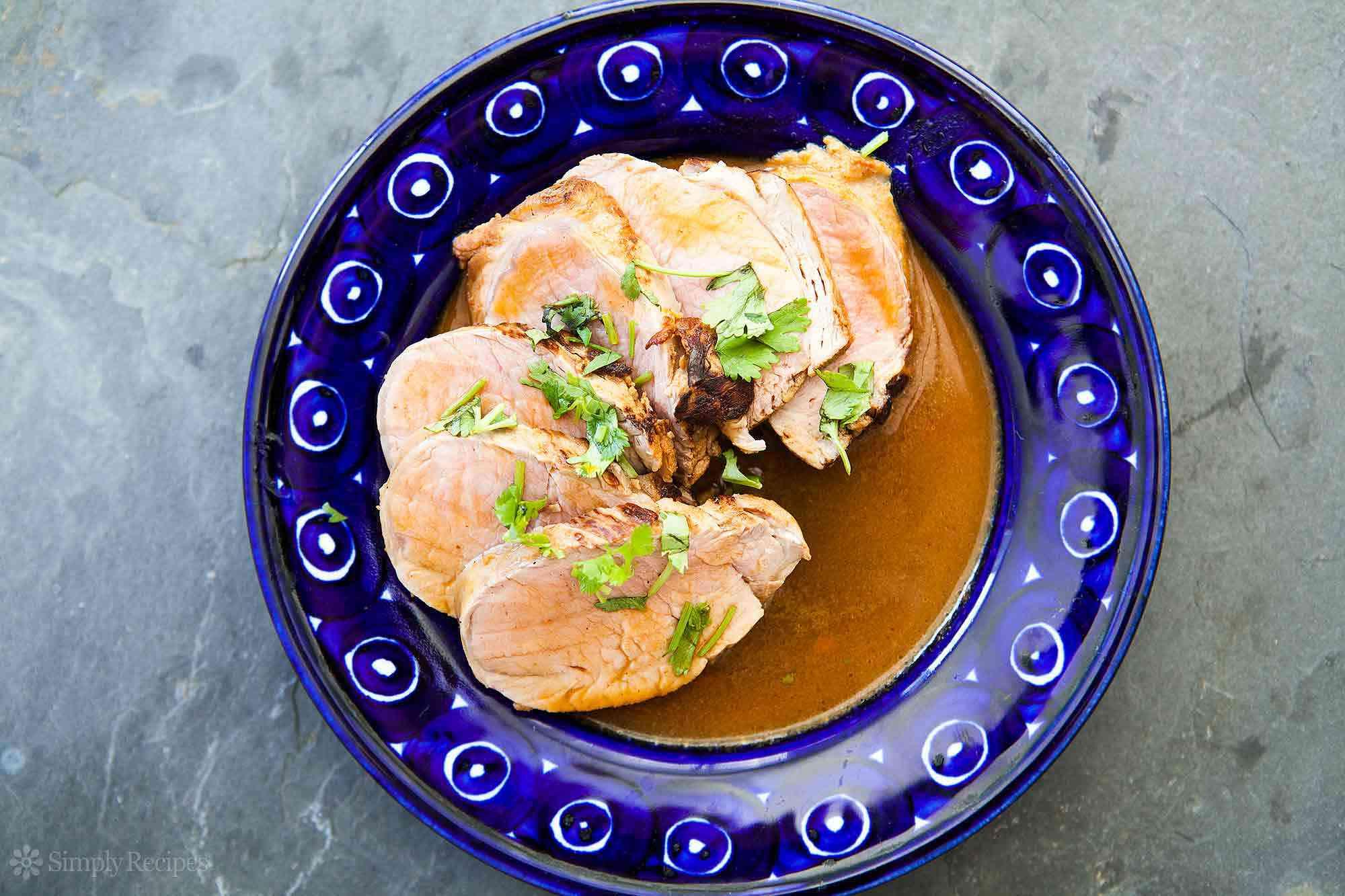 Chipotle Citrus Pork Tenderloin