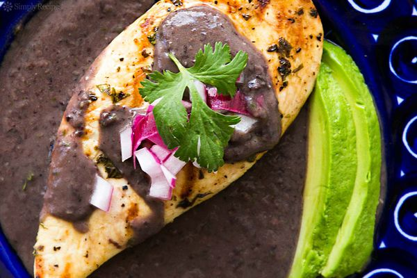 Grilled Lime Chicken Black Beans