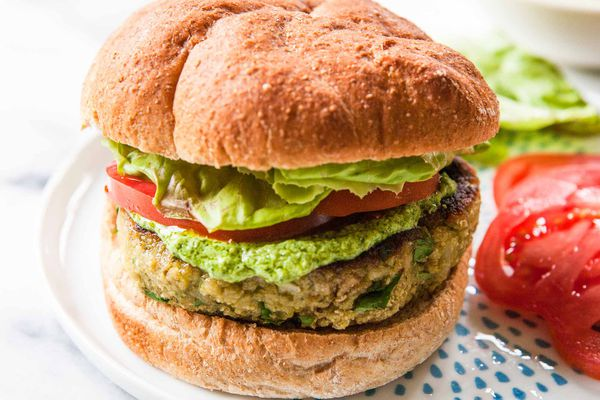 Veggie Burgers with White Beans