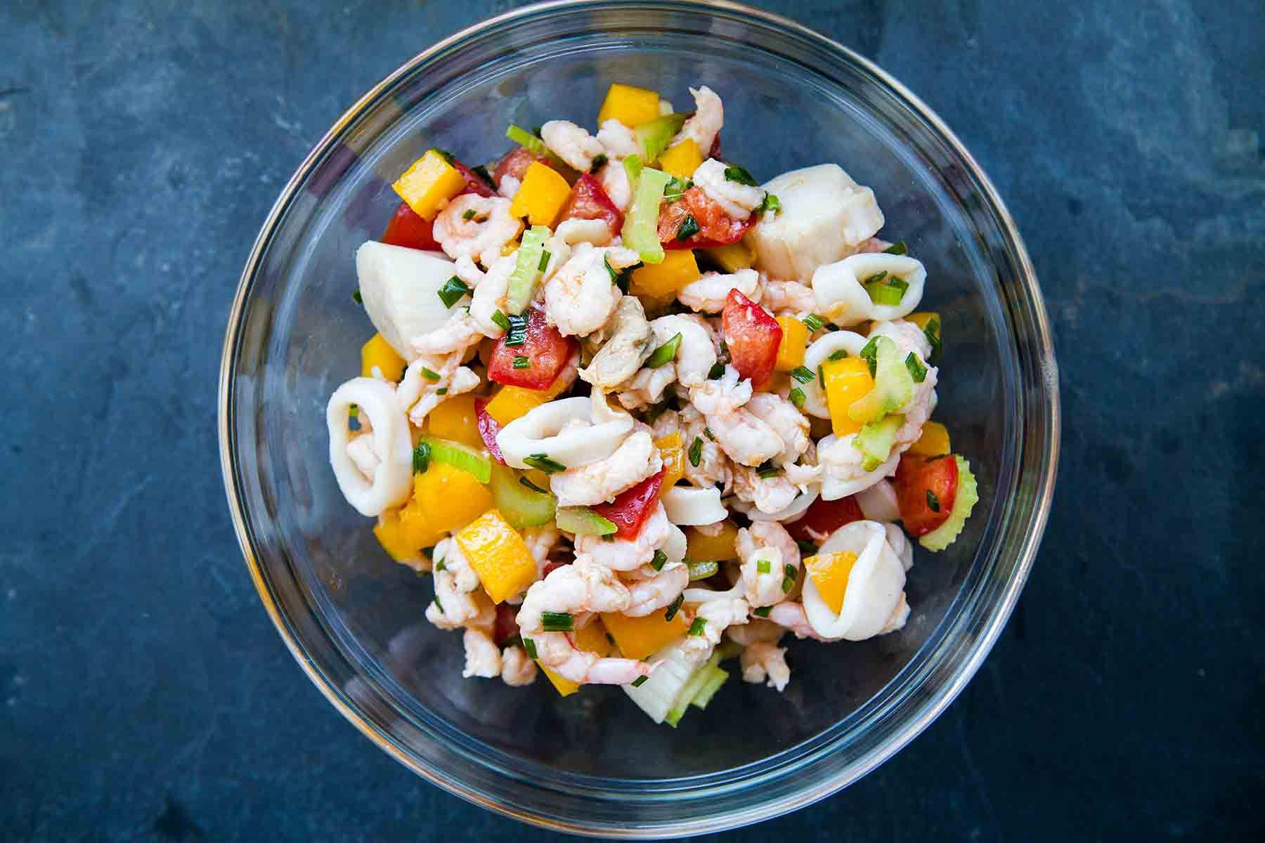 frutti di mare seafood salad