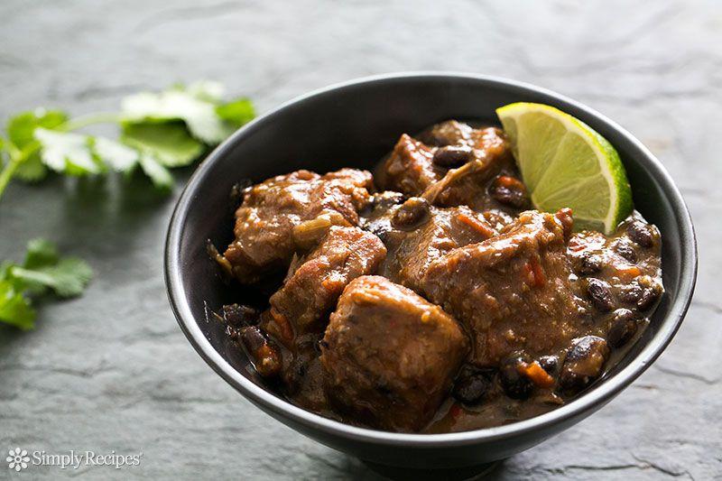 Pork and Black Bean Stew