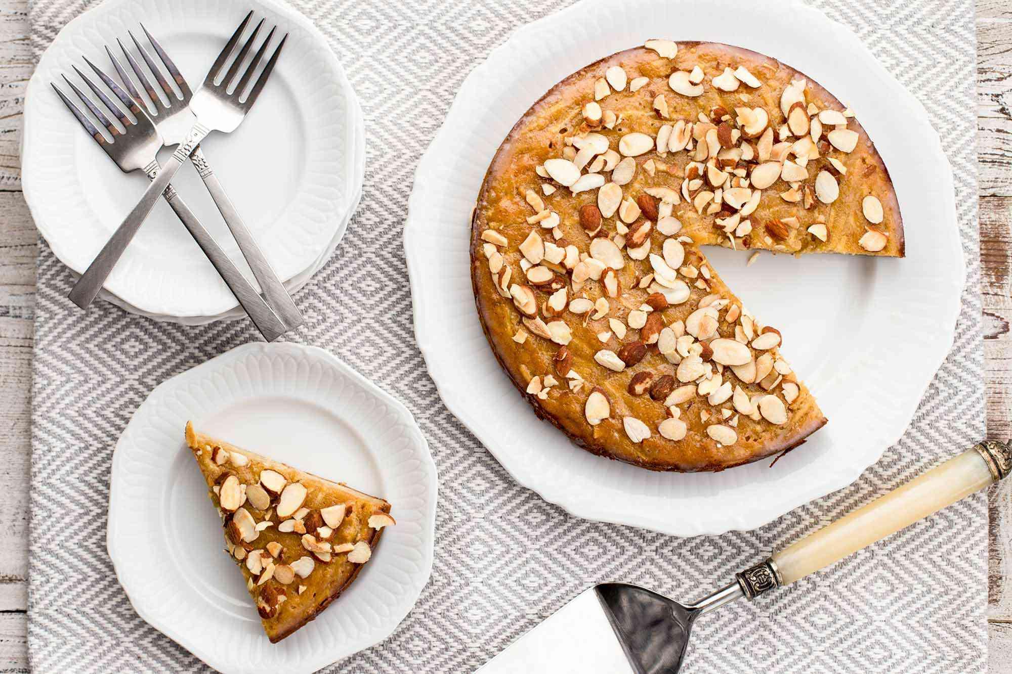 Grain-Free Apple Honey Cake