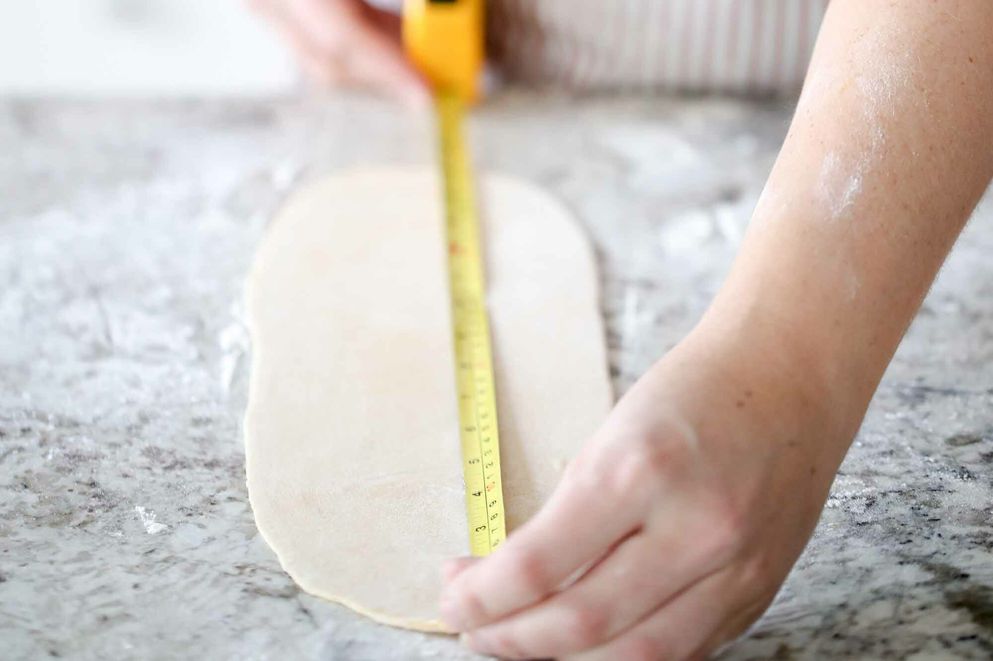 How to Make Homemade Pasta roll out long