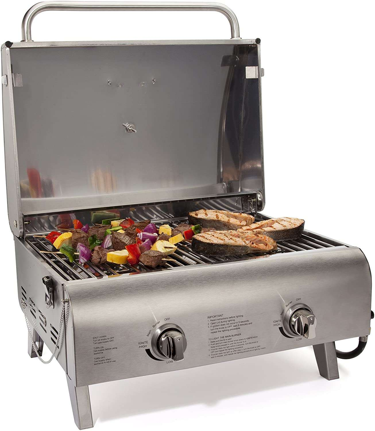 Cuisinart Chef's Style Propane Tabletop Grill