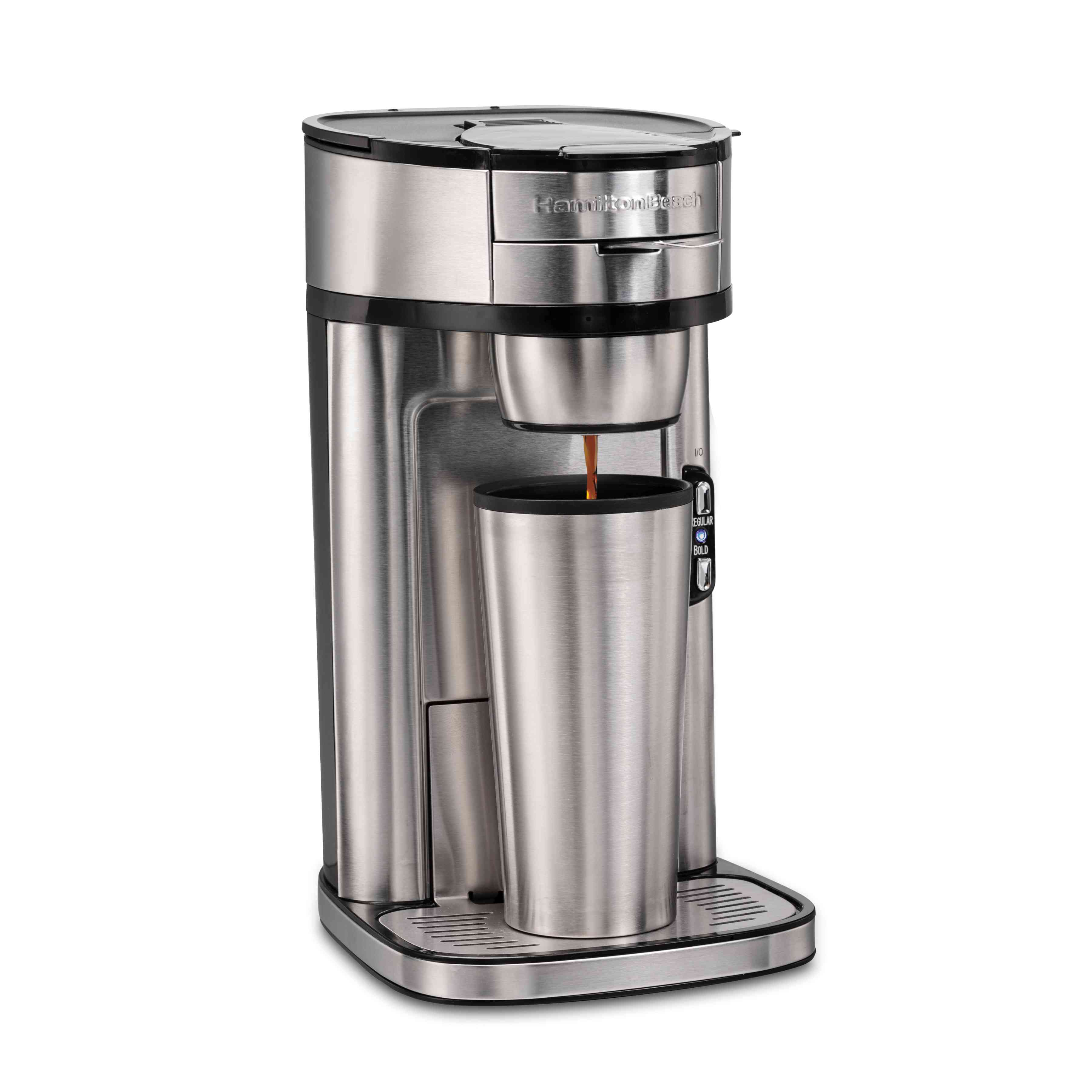 The Scoop Single-Serve Coffee Maker