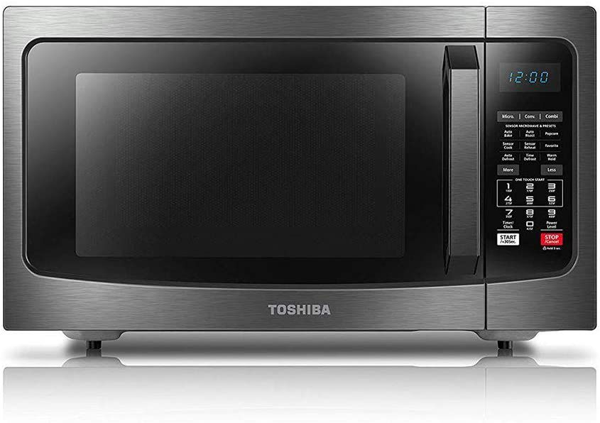 Toshiba EC042A5C-BS 1.5 Cubic Feet Convection Microwave Oven