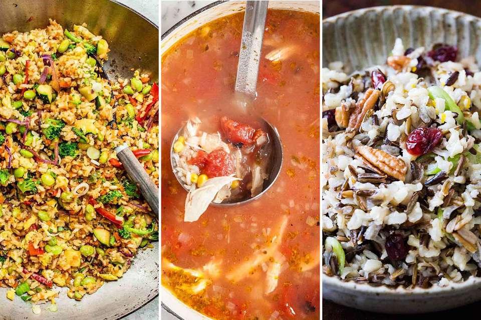 5 Ways to use a Pot of Rice