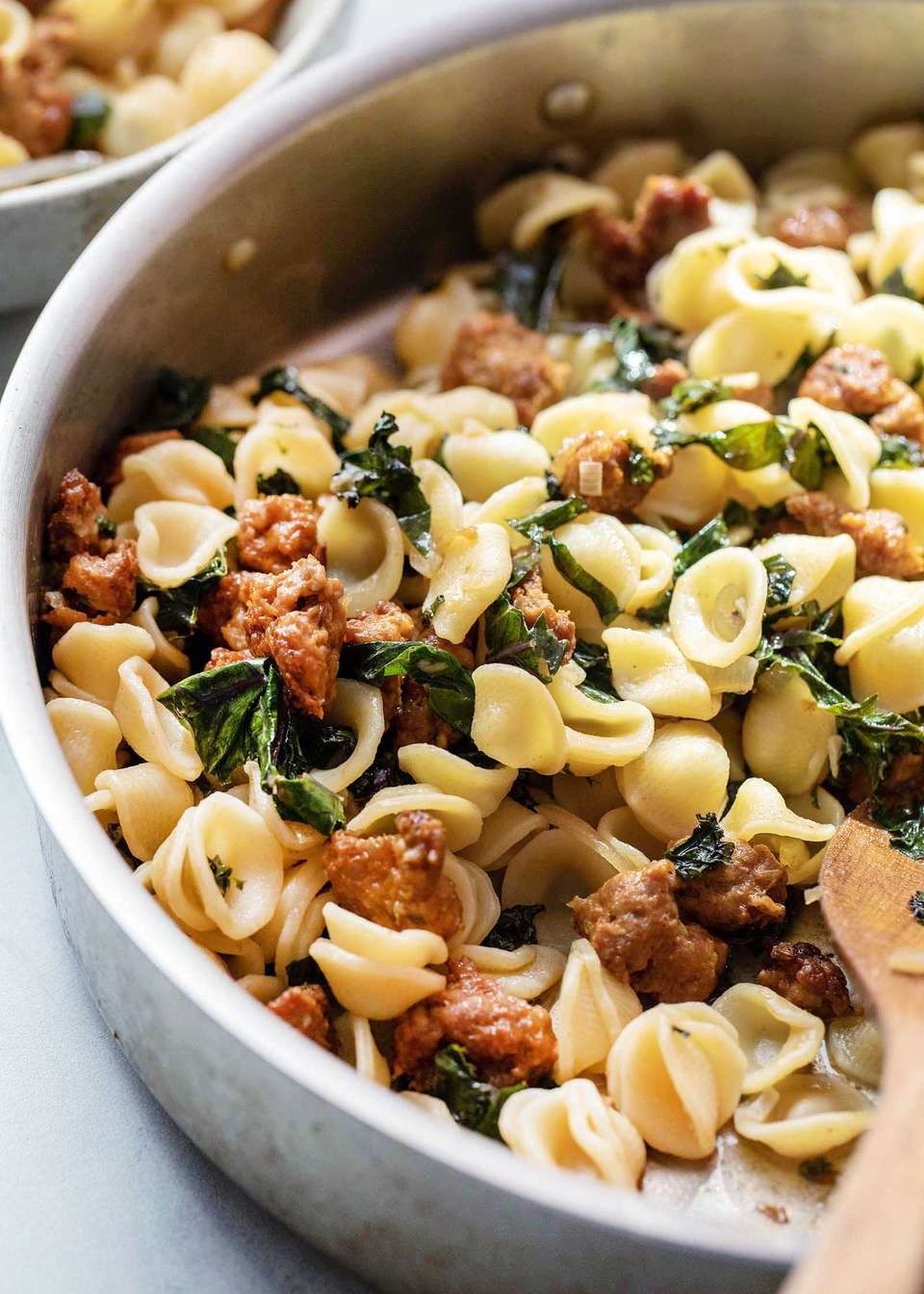 Sausage and Kale with Pasta Dinner recipe