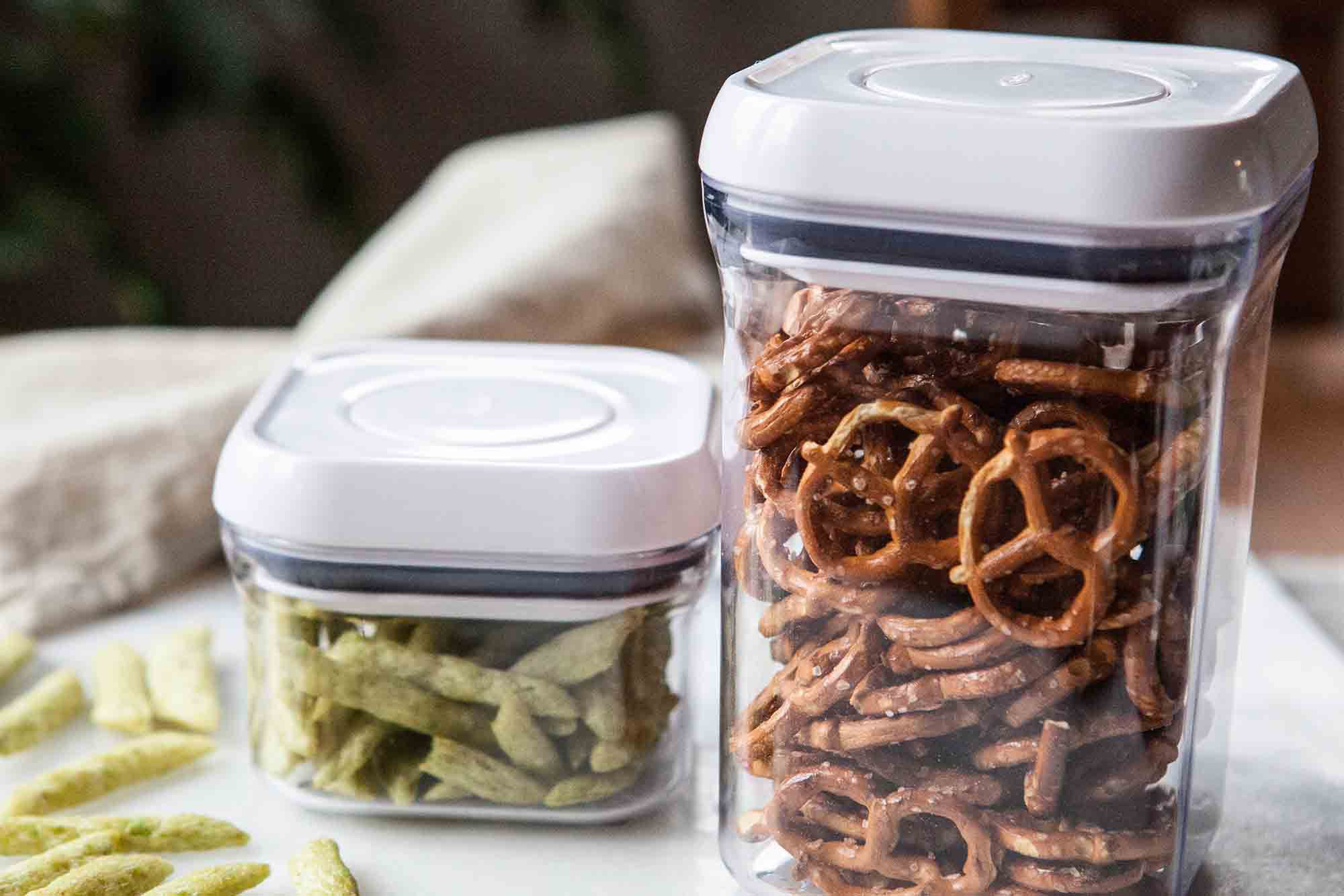 Food Storage Containers - how to store snacks!