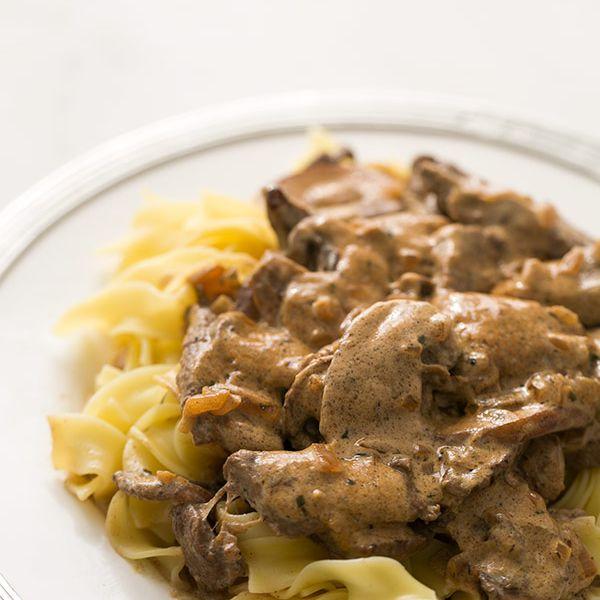 How To Serve Beef Stroganoff