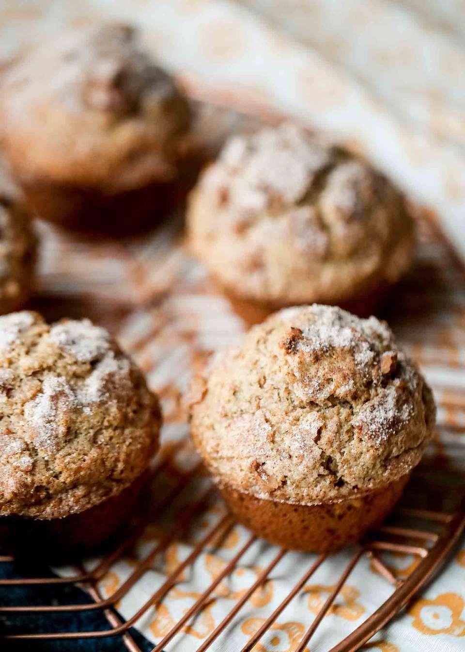 Whole Wheat Nut Muffins