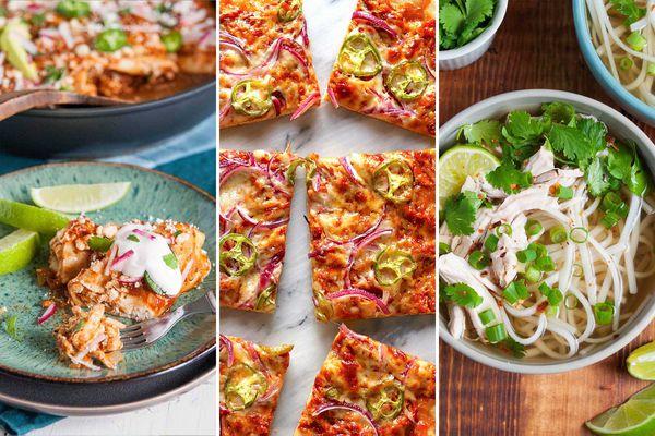 12 Rotisserie Chicken Recipes