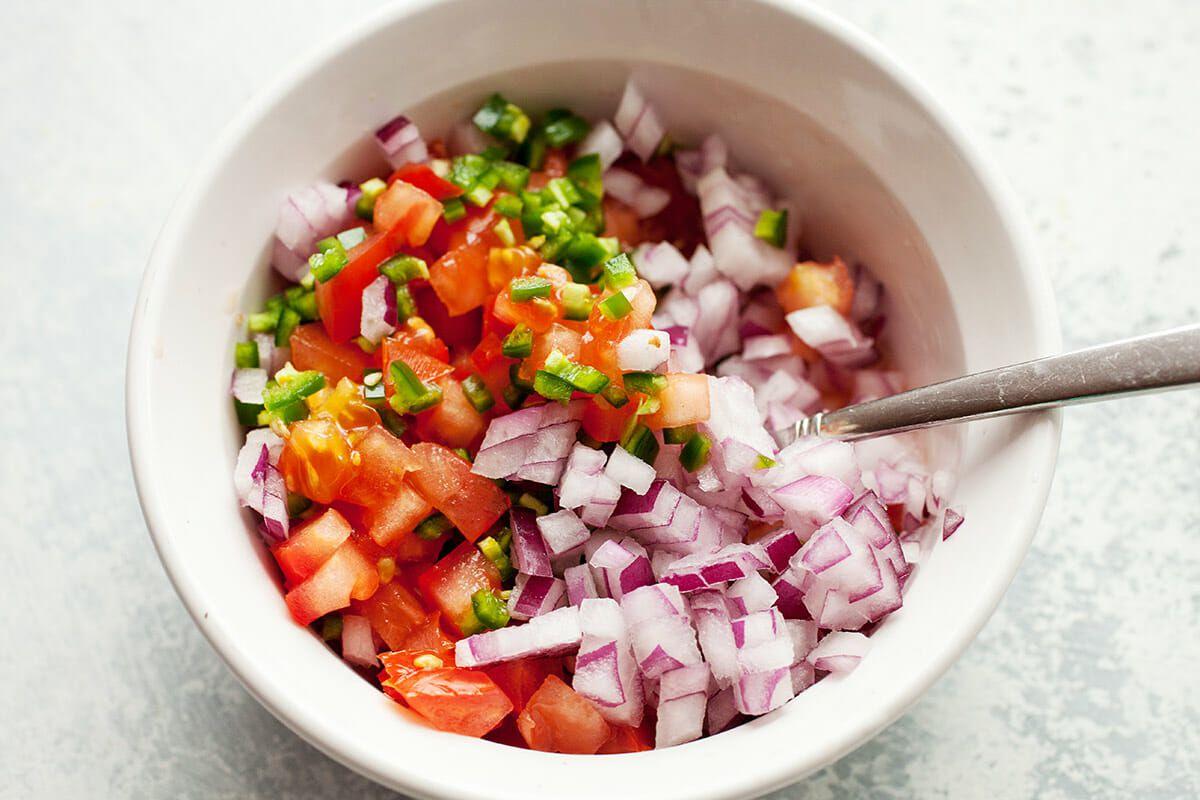 Quesadilla Recipe with Cheddar make the pico