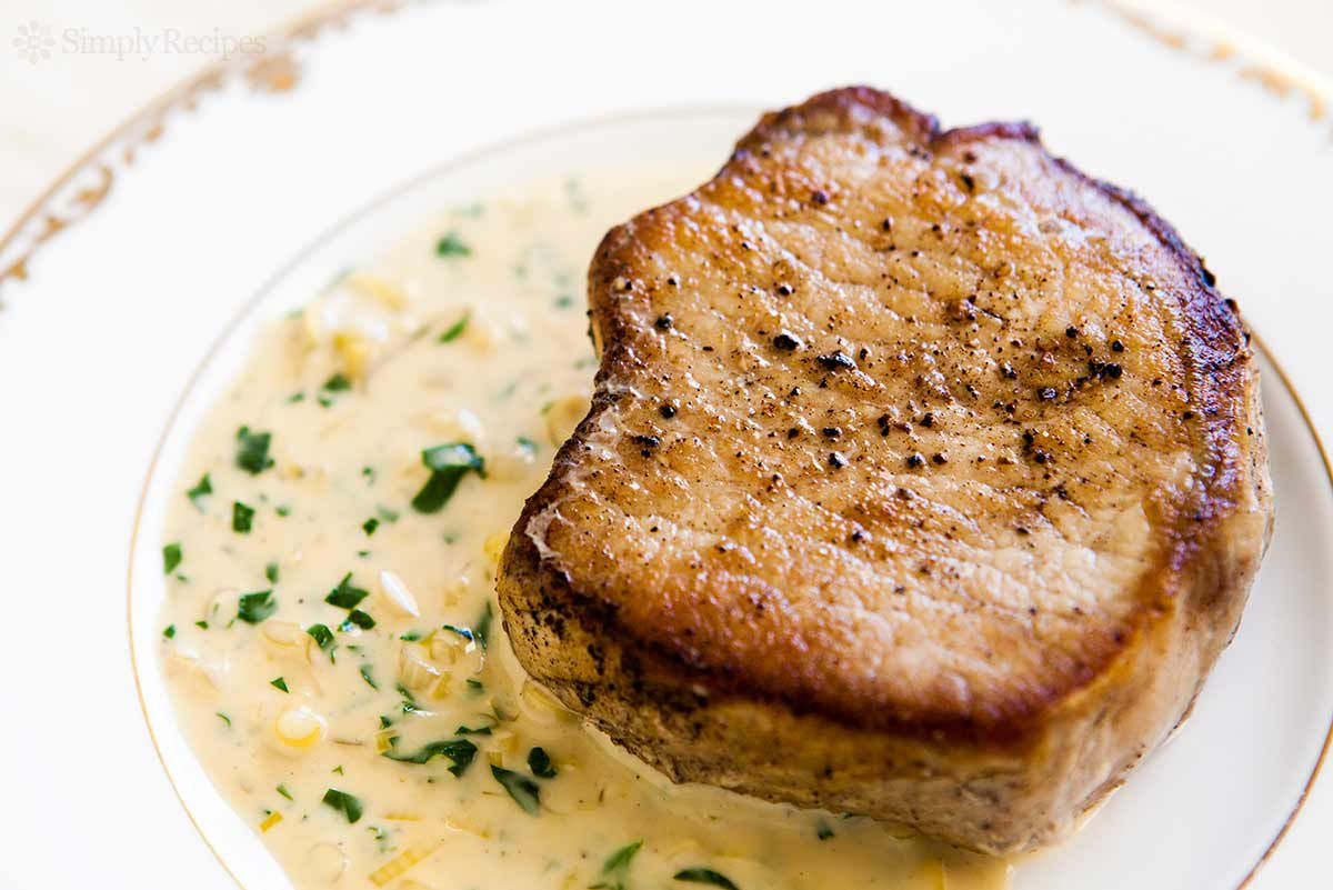recipe pork chops dijon mustard Pork Chops with Dijon Sauce