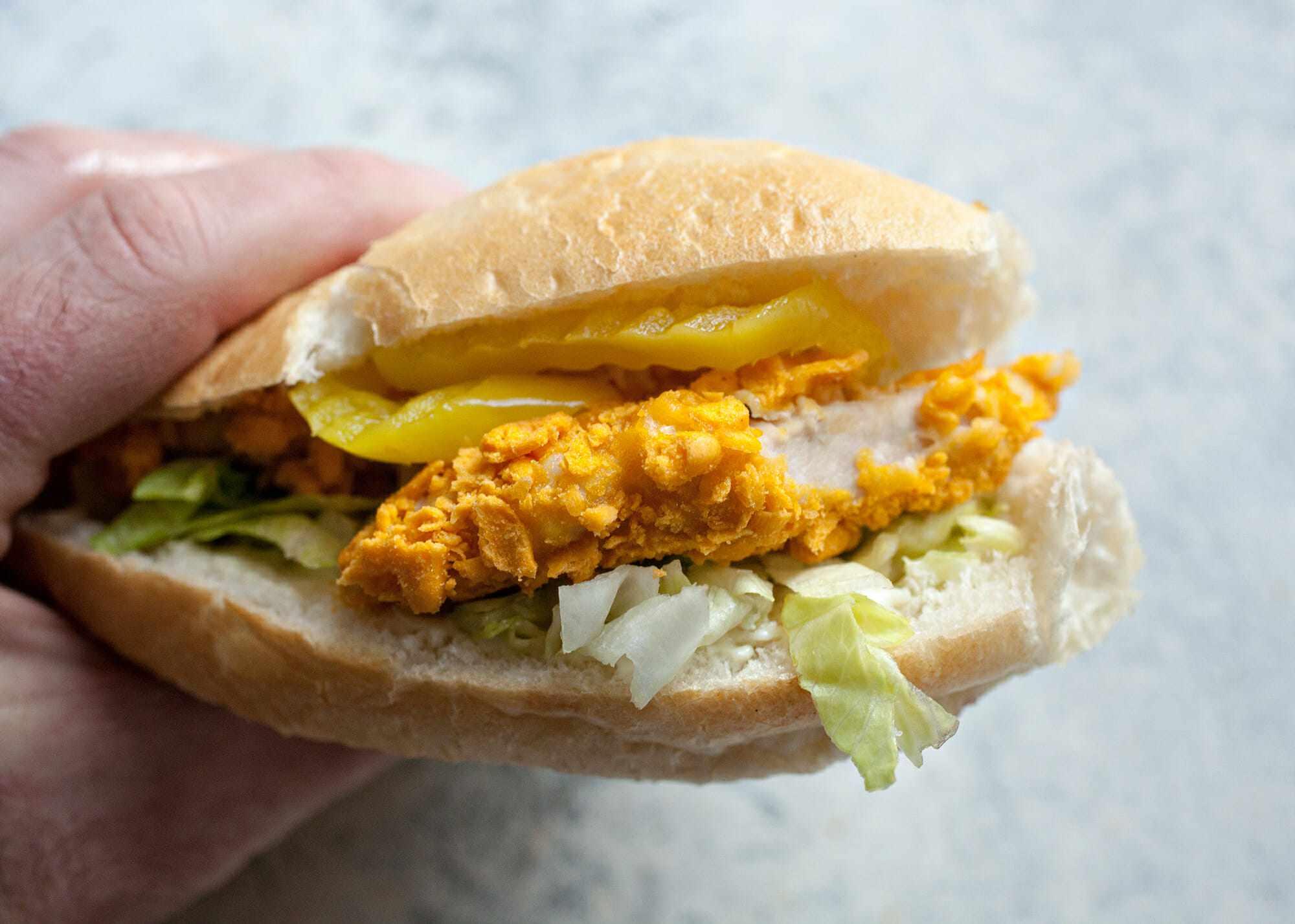 Oven-Fried Chicken Tenders