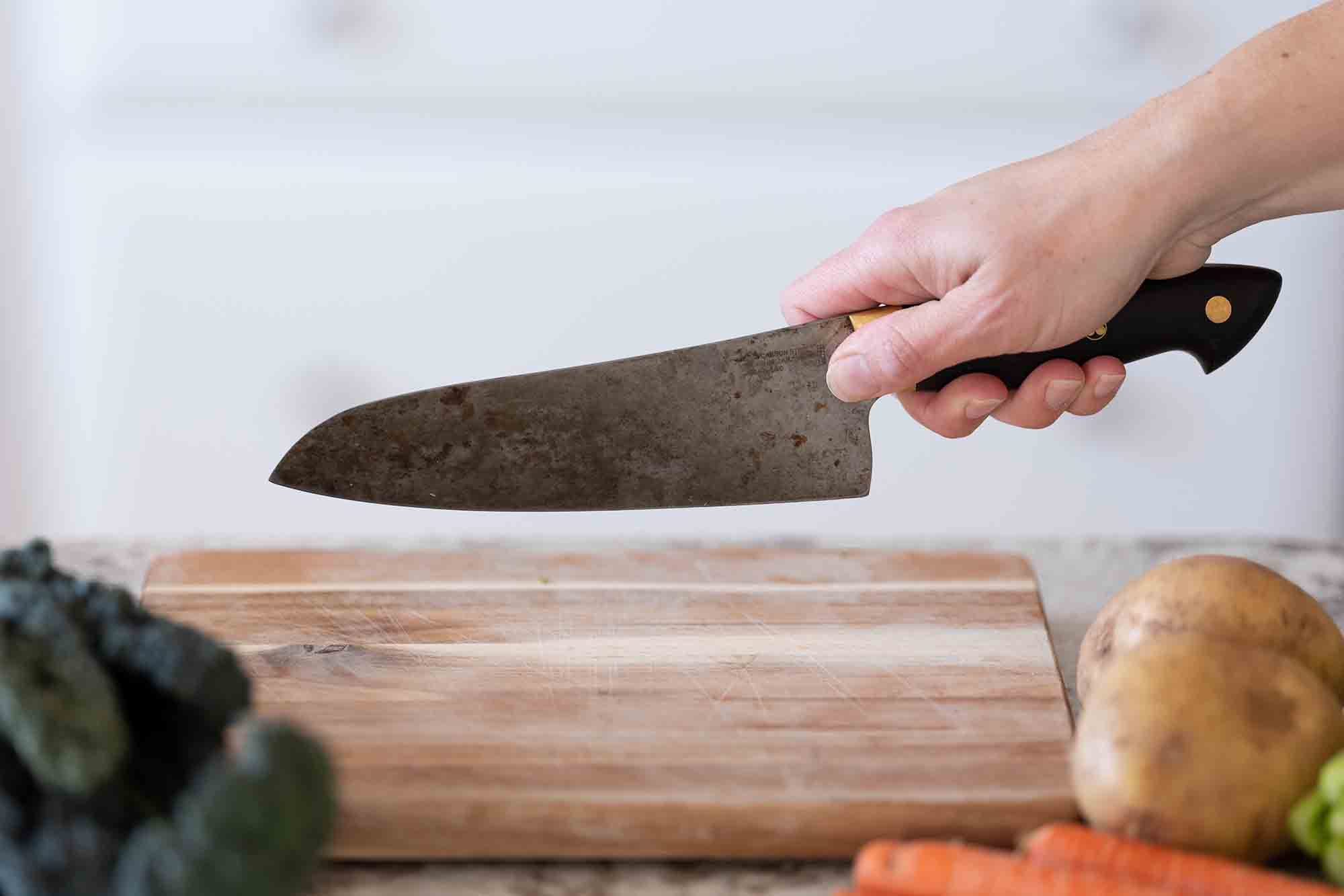The Blade Grip for a Chef's Knife
