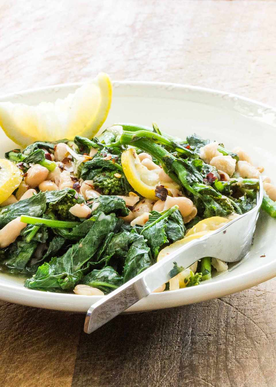 White Beans with Broccoli Rabe