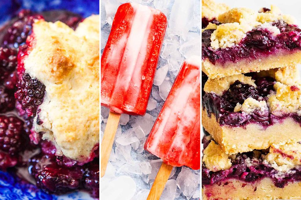 Recipes with Summer Berries